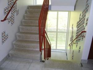 trappuppgång mönsterkollage